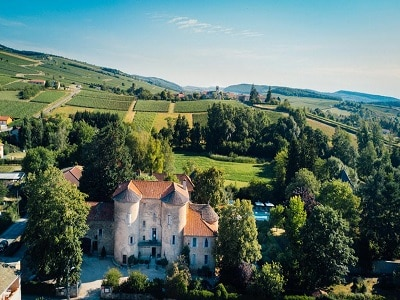 South Burgundy beautiful Castle