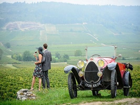 burgundy beaujolais secret wine tour vintage car vineyards