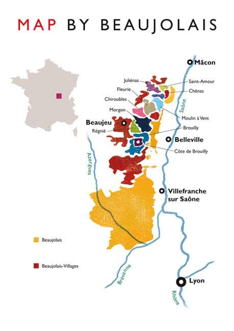 beaujolais bourgogne wine tour france