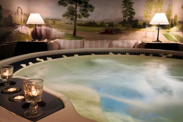 Spa Wellness experience burgundy