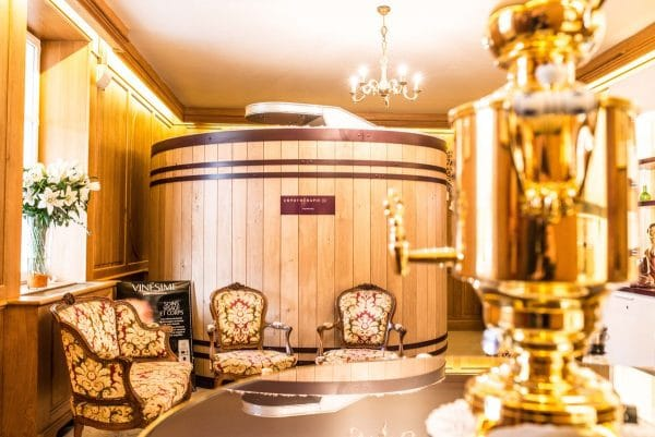 Spa wellness in burgundy wine tour france