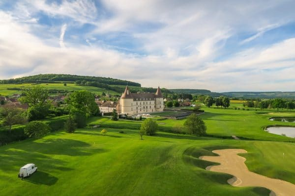 golf in Burgundy
