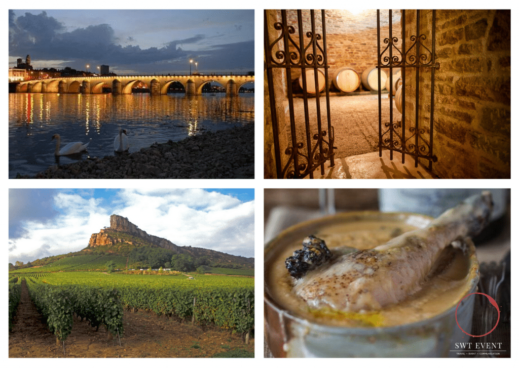 Macon burgundy wine tour from Lyon and Paris