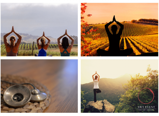 Yoga and meditation class in Burgundy