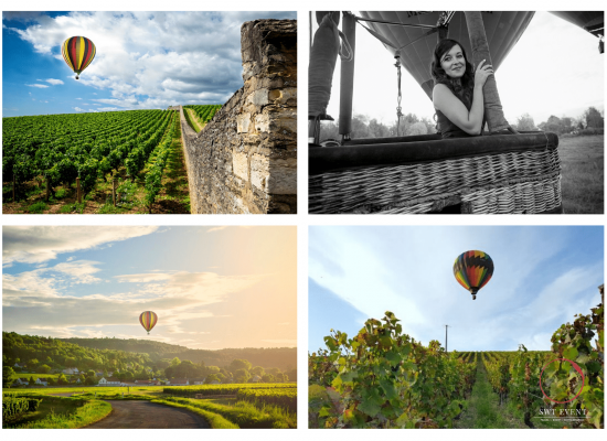 Hot air Balloon ride and wine tasting in Burgundy